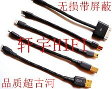 HIFI Apple lightning to A B port USB micro type c ear decoder decoder DSD cable