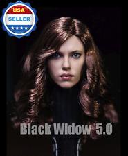 1/6 Black Widow Scarlett Johansson Head Sculpt in Suntan for Phicen ❶USA stock❶