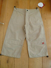 TRESPASS CACHA CROPPED WALKING TREKKING TROUSERS SHORTS 13 14 15 16 STONE KHAKI