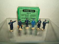 "DINKY TOYS  ""DUBLO"" GIFT SET MODEL  No.051 / No.1001  6  STATION STAFF  VN MIB"
