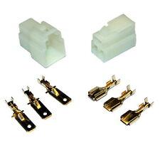 5 Kit Connecteurs Rapide 3 voies 6mm E-BIKE QUAD CAR MOTO