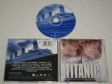 TITANIC/SOUNDTRACK/JAMES HORNER(SONY CLASSIQUE SK 63213) CD ALBUM