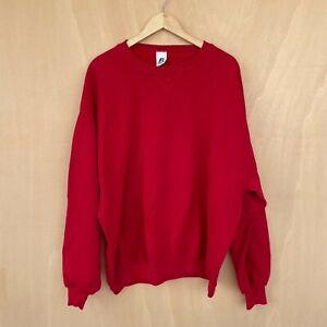 Russel Athletic Vintage Men's Plain Sweatshirt Pullover - XXL (2XL) Long Sleeve