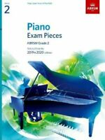 Piano Exam Pieces 2019 & 2020, ABRSM Grade 2 Selected from the ... 978178601