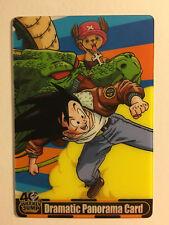 Dragon Ball X One Piece Morinaga Wafer Card 40th Weekly 21