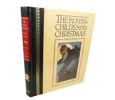 The Child's Christmas; Evelyn Sharp. Illustrated wonderfully by Charles Robinson