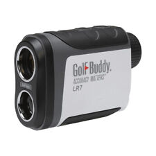 GolfBuddy LR7 Golf Laser Rangefinder with Free Rechargeable Battery & Charger