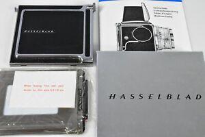 HASSELBLAD 41017 (TICUC) COMPLETE CUT FILM ADAPTER SET = BACK+HOLDER+DARK SLIDE