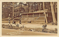 Rockport ME Texaco Gas Station Oak Grove Lunches Cabins U.S. 1 Postcard