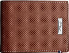 S.T. Dupont Defi 6 Credit Card Wallet, Perforated Leather, 170501 New In Box