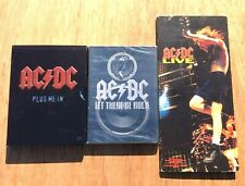 AC/DC Plug Me In-Let There Be Rock & Live DVD/CD Bundle