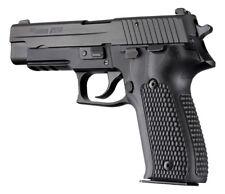 Hogue Grip For Sig Sauer P226 DA/SA - Piranha Grip G-10 - Solid Black 26139