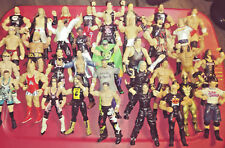 WWF wwe FIGURE LOT 58 Jakks Classic Superstars Mattel Elite rvd kane jericho