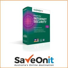 Kaspersky Internet Security 2018 3 PC 2 Year for Windows Email license key