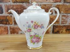 More details for aynsley floral coffee / teapot vintage