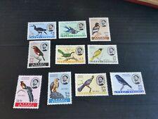 ETHIOPIA 1962 SG 534-543 BIRDS (1ST SERIES) MH  (Q)