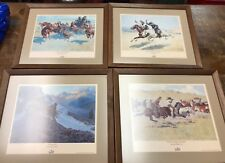 fredrick remington Prints Limited Edtion Busch Beer Series Of 4