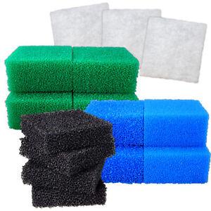 Juwel Compact Bulk Set PolyPad Nitrate Carbon Fine Coarse Sponge Media Fish Tank