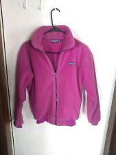 Patagonia Fleece Full Zip Jacket Womens 7/8  Made in USA