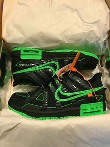 Nike Rubber Dunk x Off White Green Strike Size 10 -READY TO SHIP-