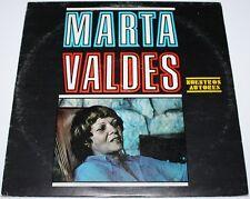Marta Valdés-nuestros ilustres [Vinilo Lp, 1981] Cuba importación LD 3985 Latin * Excelentes