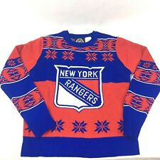 NHL New York Rangers Red & Blue Sweater Youth SZ Large 14/16 NWT