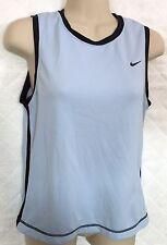 Nike Dri-Fit UV Athletic top light blue shirt Women XS 0/2 Polyester sleeveless