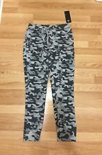 Nwt Men's Layer 8 French Terry Jogger Pants Active Pants Camo Gray M L Xl