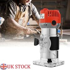 """800W 0.25"""" 30000RPM Electric Hand Trimmer Wood Laminate Palm Router Joiners Tool"""