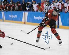 Autographed Jocelyne Larocque Team Canada 2018 Olympics Womens Hockey 8x10 Photo