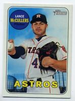 2018 Topps Heritage #318 LANCE McCULLERS Houston Astros - Base Card 1969 STYLE