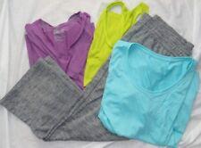 Womens Fitness Lot (4) UNDER ARMOUR & NIKE Sweat Pants & Shirts Sz XL