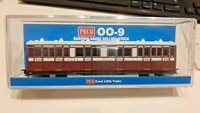 Peco OO9 Lynton & Barnstaple L&B coach No.5 composite in red livery (GR-400A)