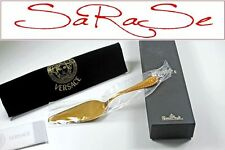 Versace Rosenthal palas para tarta Medusa oro sealed LP 435,00 EUR nuevo