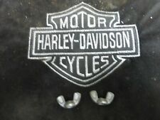 Harley original NOS battery wing nuts Knucklehead Panhead big flathead