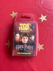 HARRY POTTER AND THE GOBLET OF FIRE TOP TRUMPS SPECIALS