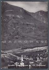 LECCO PRIMALUNA 06 Frazione CORTABBIO Torrente PIOVERNA Cartolina FOT. viag 1956
