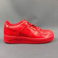 """Nike Air Force 1 Low GS """"Independence Day"""" Red AR0688 600 Youth Kids Size 7Y"""