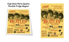 "The Beatles 1965 Rizal Stadium Philippines Concert Poster 3""X4"" FRIDGE MAGNET"
