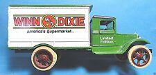 """""""Winn Dixie Supermarket"""" Die-Cast Hawk-Eye Truck Bank"""