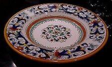 Deruta Majolica Italian Pottery - RICCO PASTA / SOUP Bowls - Set of 8