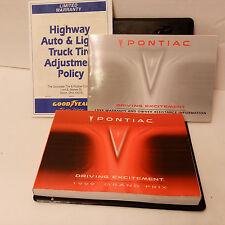 1999 PONTIAC GRAND PRIX  Factory Service Manual Set w/Case >>>FAST SHIPPING