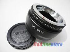 Adapter for Voigtlander Retina DKL Lens to Micro 4/3 M4/3 E-P2 E-PL3 GH2 + CAP