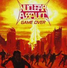"""NUCLEAR ASSAULT """"GAME OVER""""  CD THRASH METAL NEW+"""