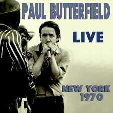 New: PAUL BUTTERFIELD - Live New York 1970 (Ft. David Sanborn) CD