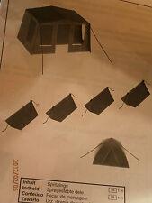 Faller H0 6 Zelte Campingzelte Campingzubehör Bausatz NEU