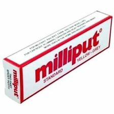 MILLIPUT Standard Yellow Grey 2-Part Self Hardening Hobby Putty FREE SHIPPING