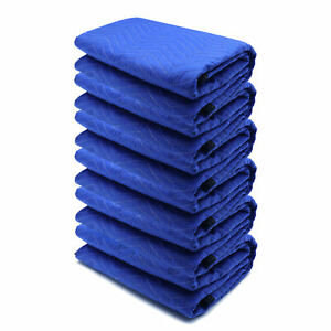 72x80 6PCs Thick Furniture Moving Packing Blanket For furniture Pads