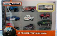 Matchbox MBX 2015 10 pack FLAME SMASHER gift set coffret Ford cargo Jeep willys