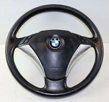 BMW E60 E61 5er Lederlenkrad Lenkrad Multifunktion MFL komplett #3027